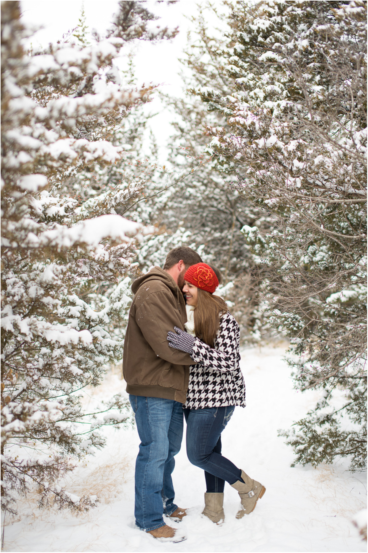 Kansas Winter Engagement Session1