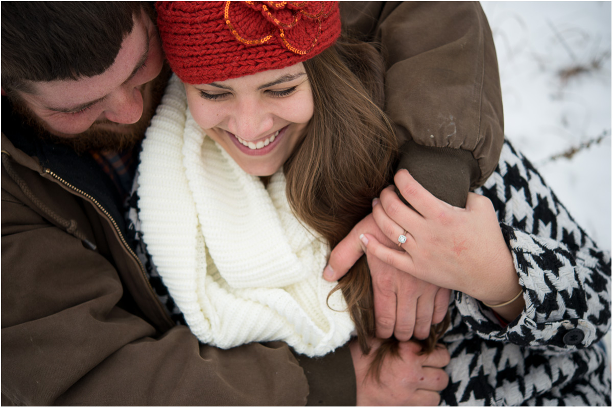 Snow Day Engagement Session | Seattle Wedding Photographers