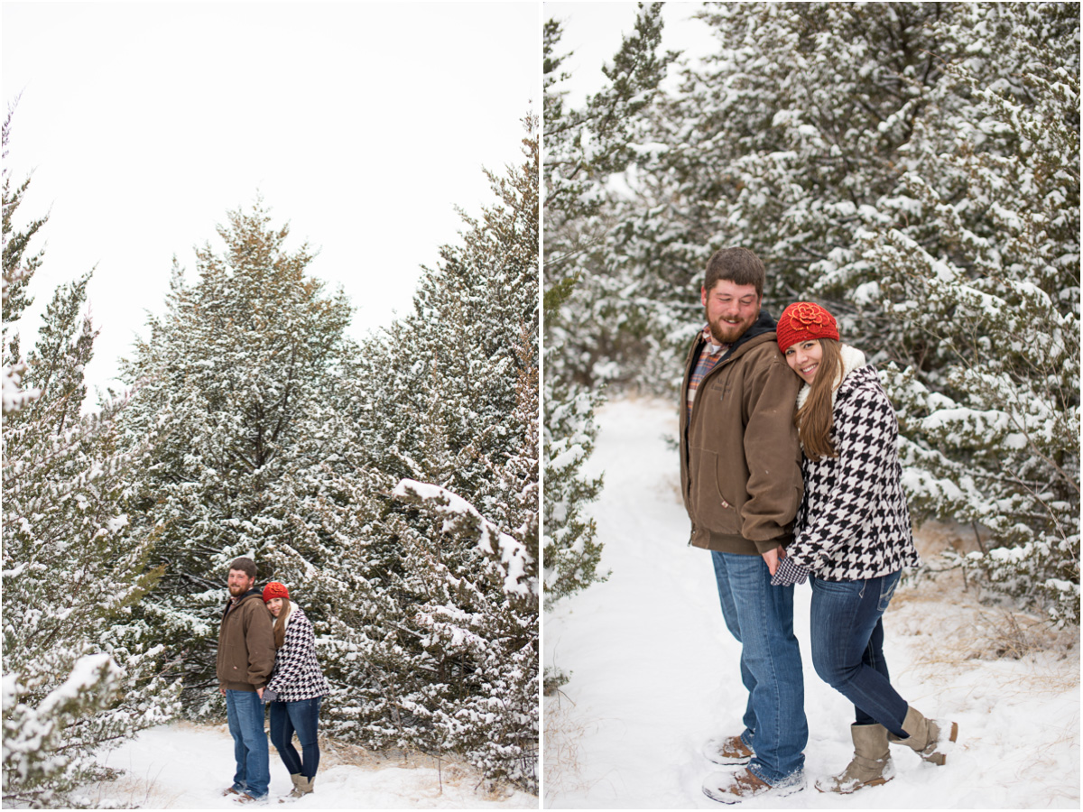Kansas Winter Engagement Session5