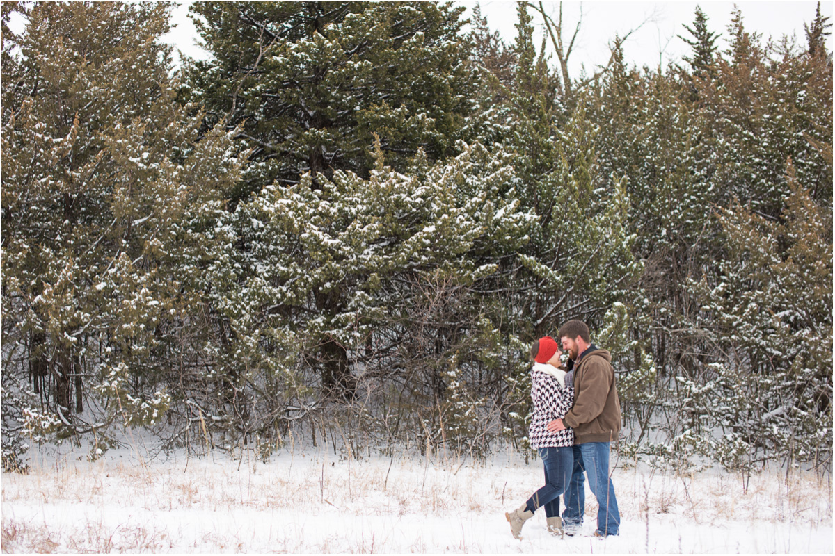Kansas Winter Engagement Session7