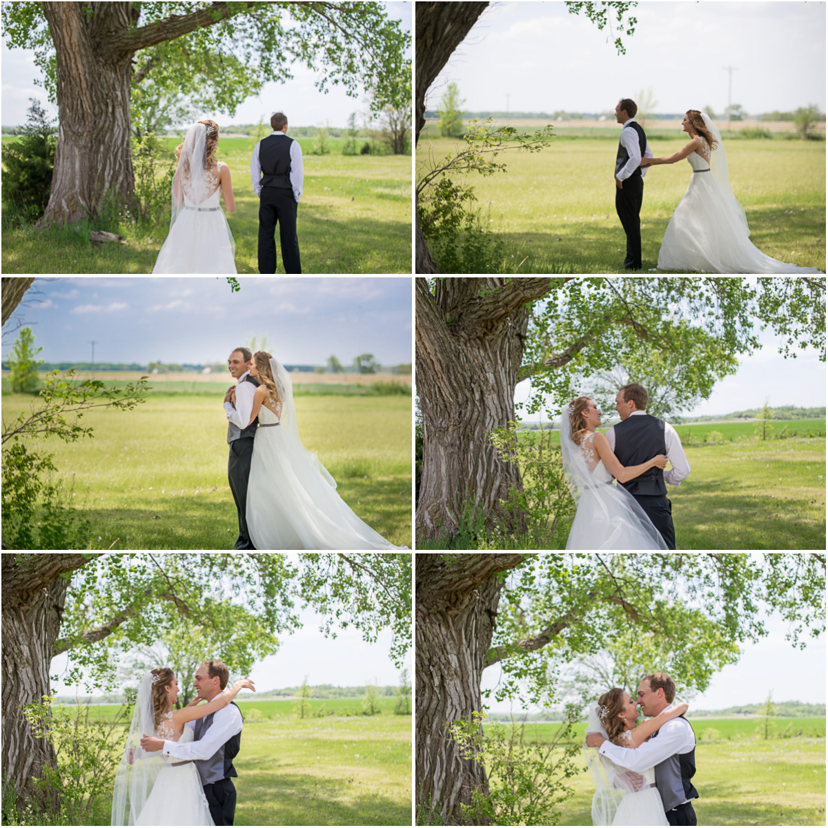 romantic spring wedding
