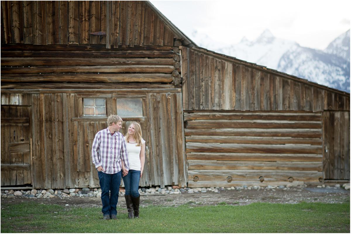 Grand Teton National Park Engagement Session | Jackson Hole Wyoming Wedding Photographers