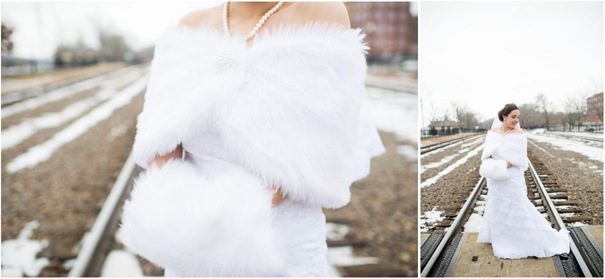 Kansas City Winter Wedding