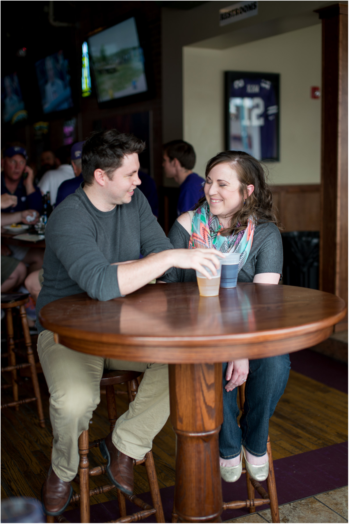 Aggieville Manhattan Kansas Engagement 3