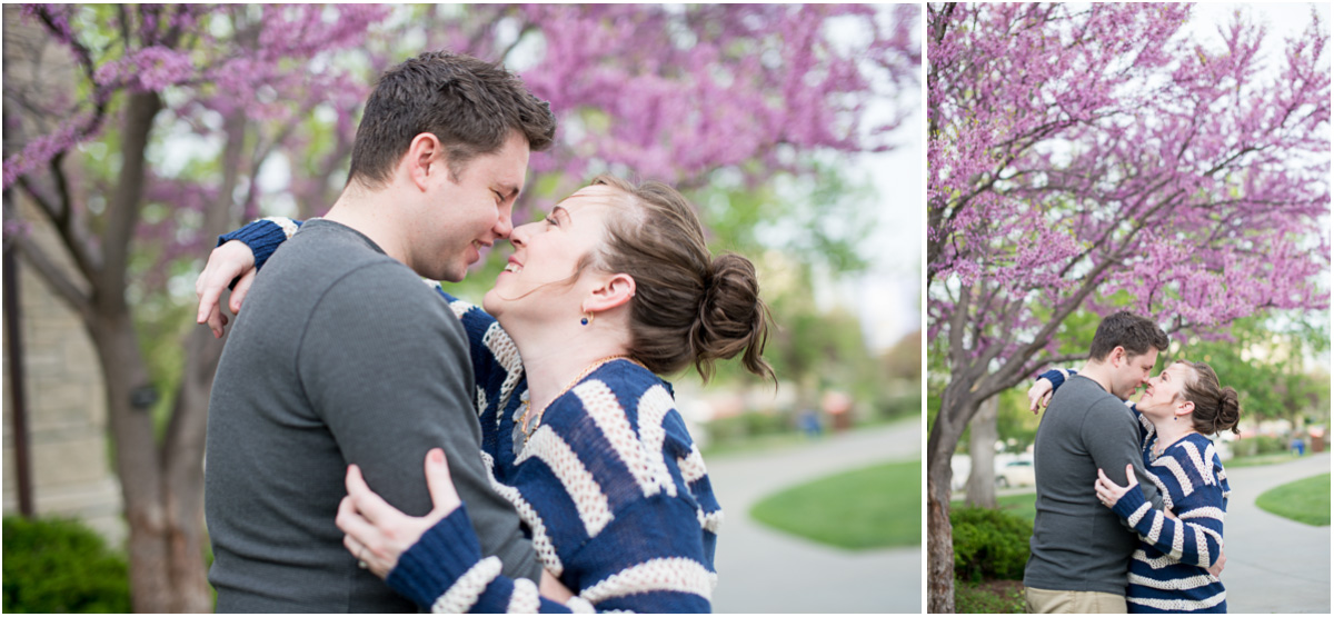 Aggieville Manhattan Kansas Engagement 6