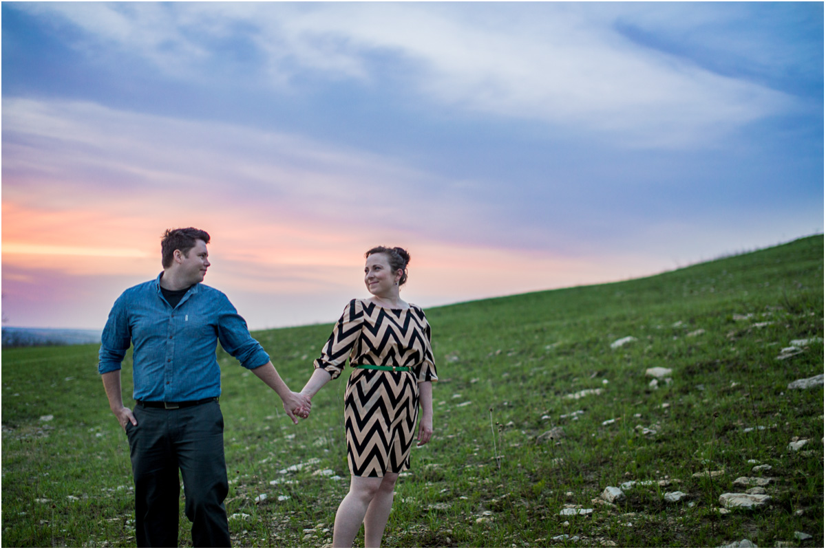 Flint Hills Engagement 9