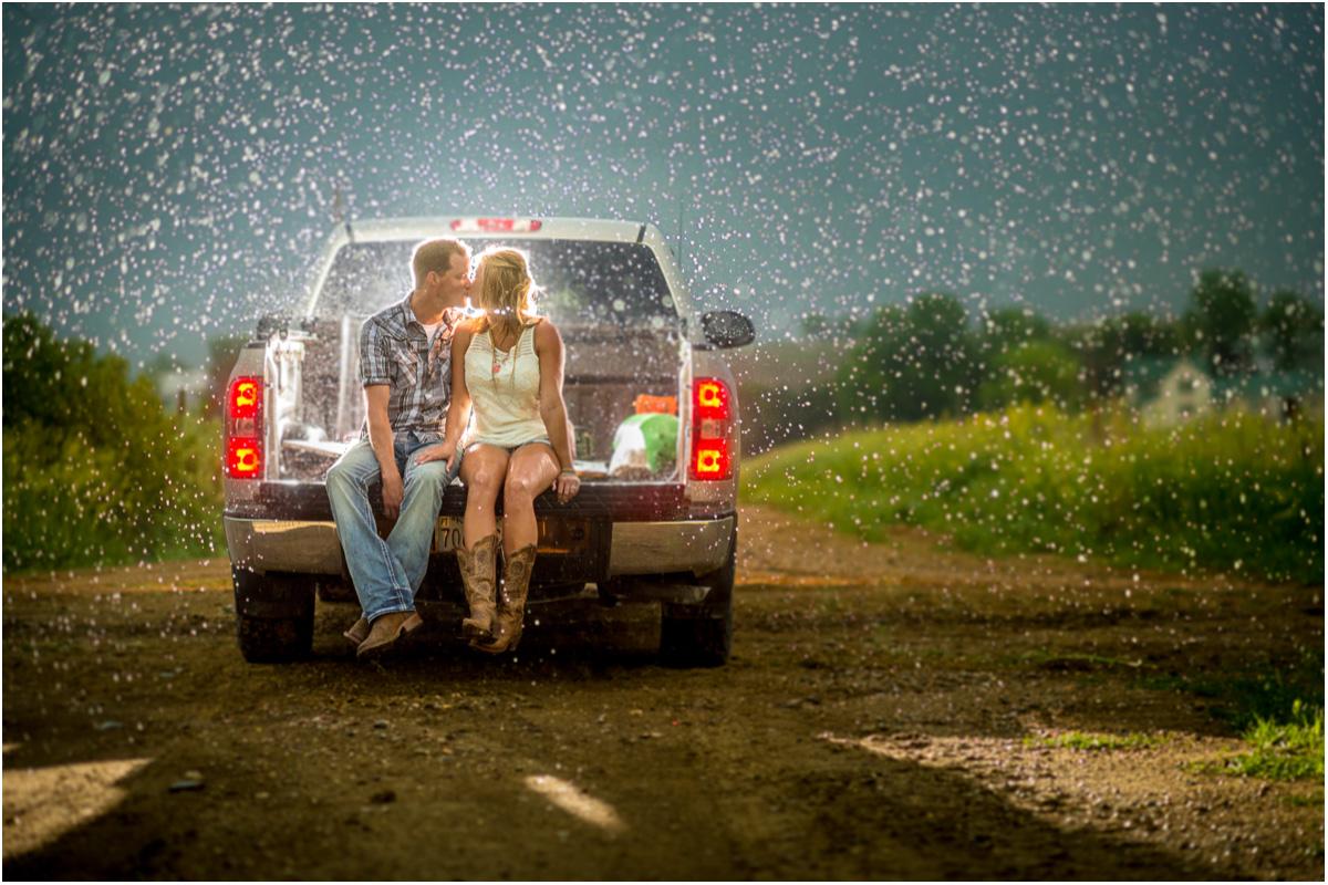 Rainy Family Farm Engagement Session | Seattle Wedding Photographers