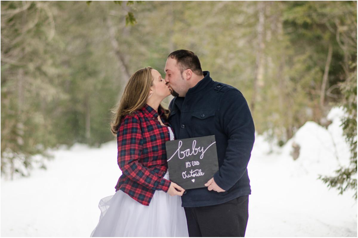 Rustic Winter Wedding Styled Shoot | Maine Wedding Photographers