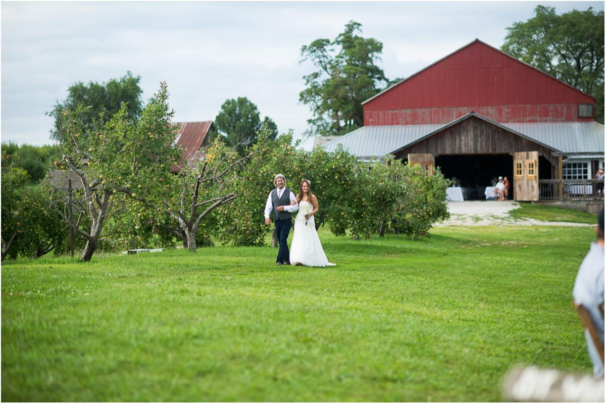 Rustic Red Barn Farm Wedding