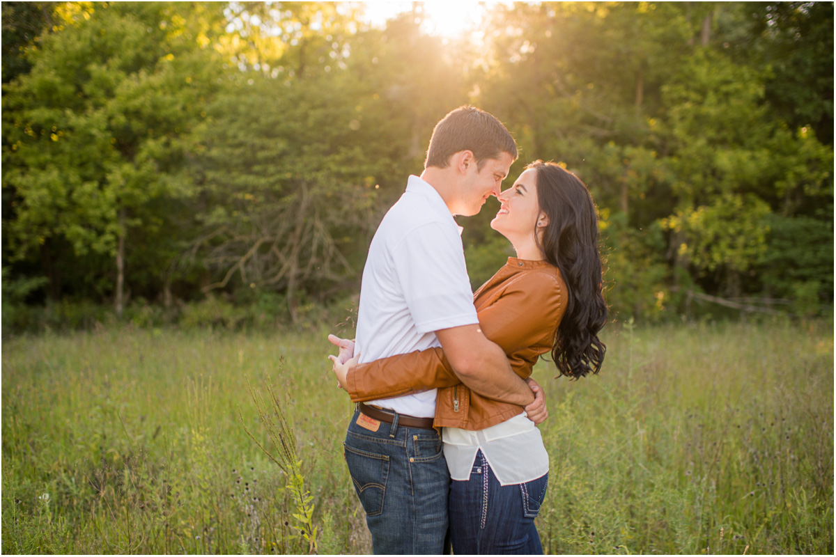 Country Engagement session Kansas Wedding Photographers
