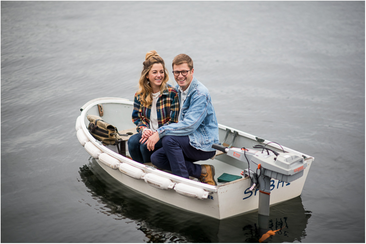 Nautical Lake Union Engagement Session5