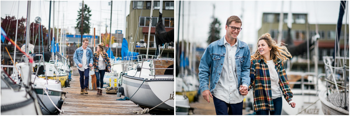 Nautical Sailboat Engagement Session on Lake Union6