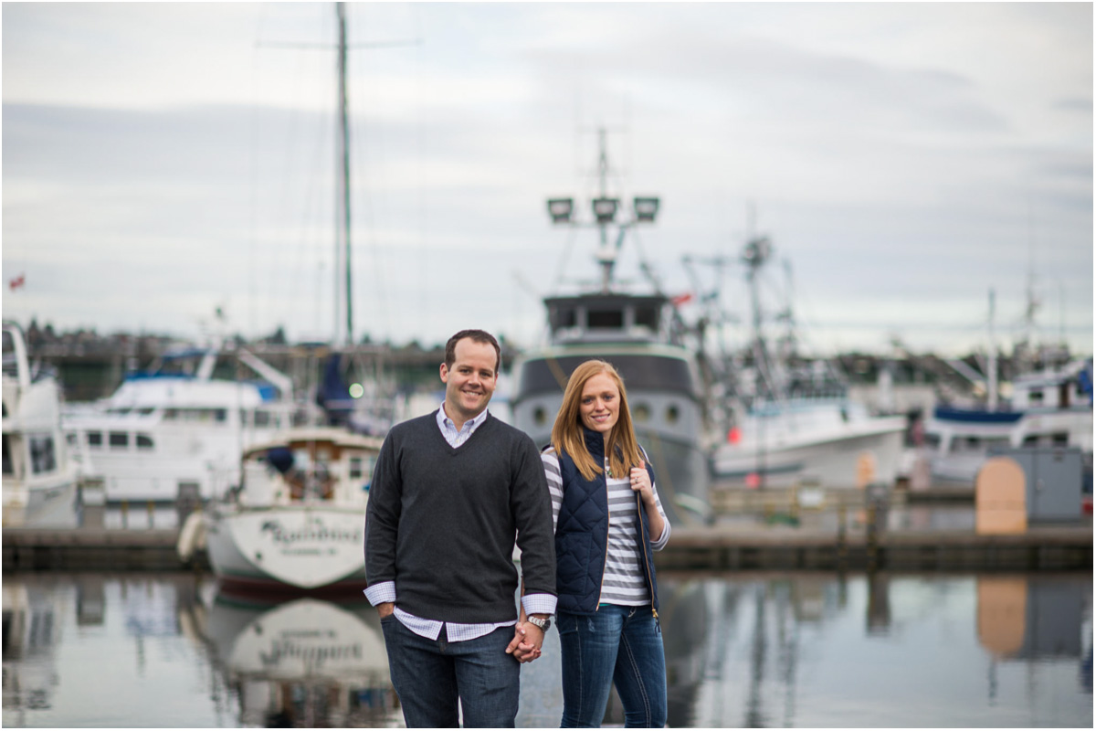 Seattle Wedding Photographers Nautical Lake Union Engagement