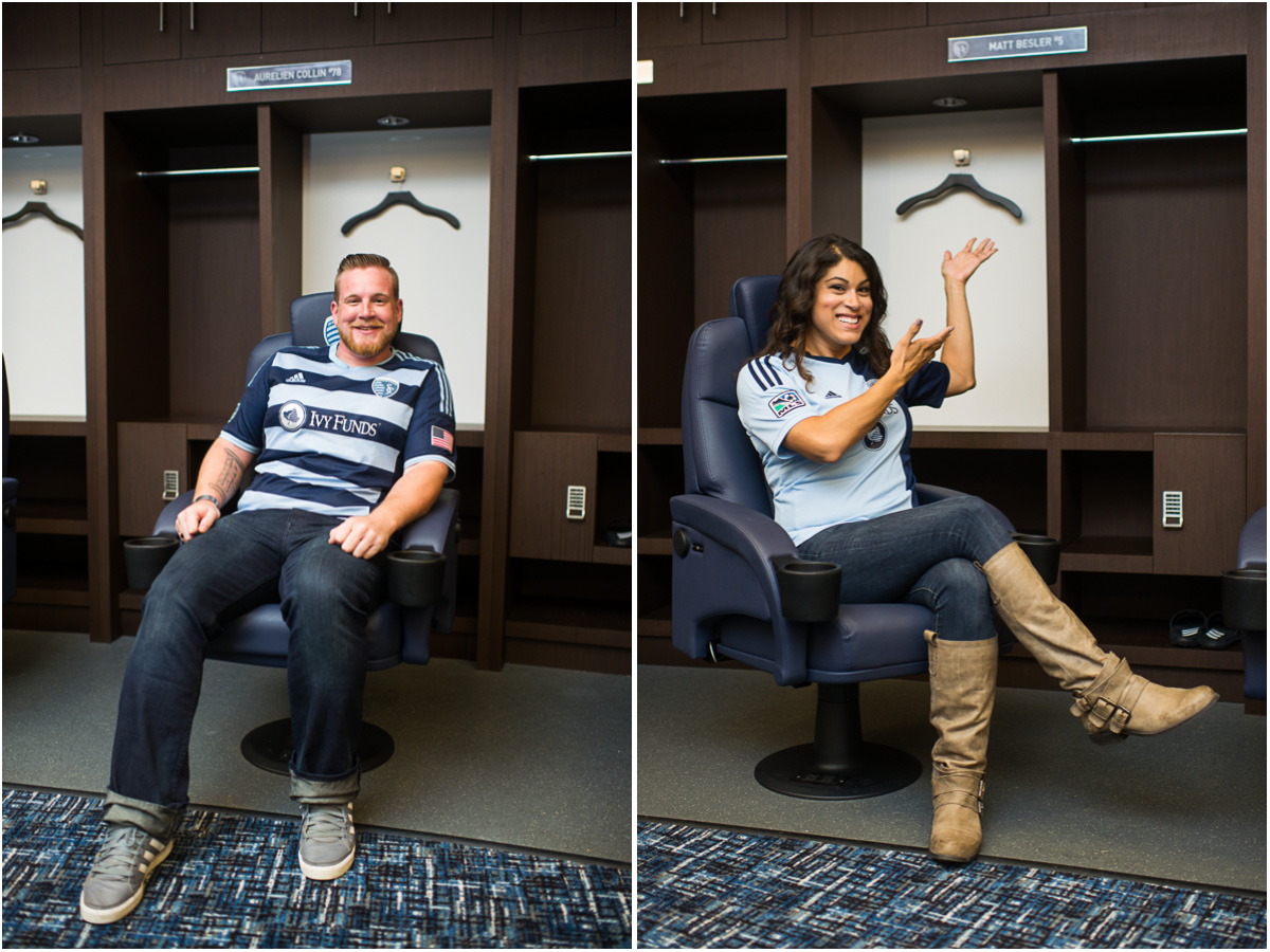 Sporting KC Engagement 1