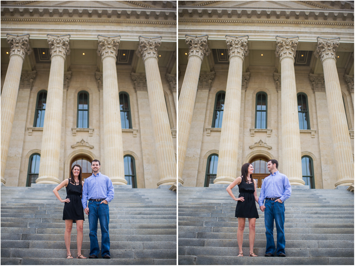 Topeka capitol engagement session 1