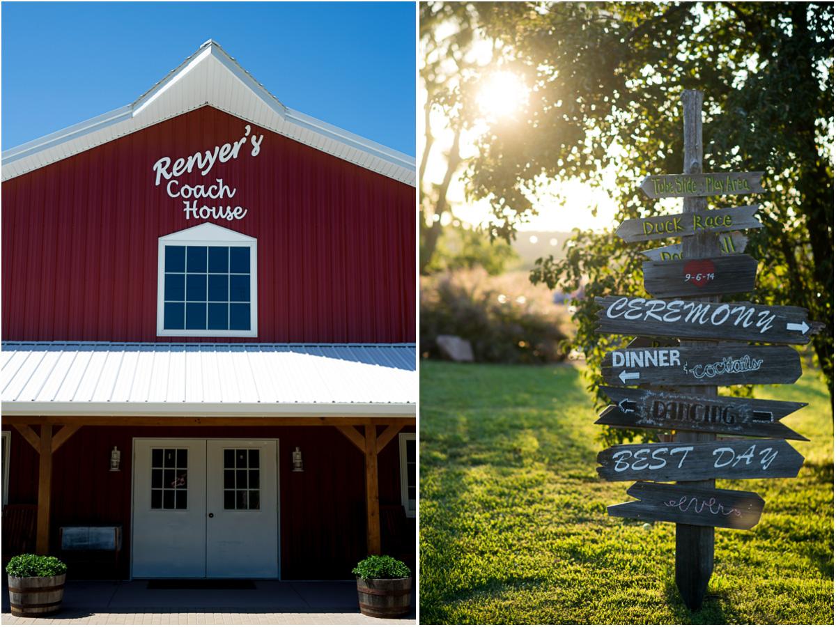 Rustic Farm Wedding Renyers Pumpkin Farm Northeast Kansas Wedding Venue