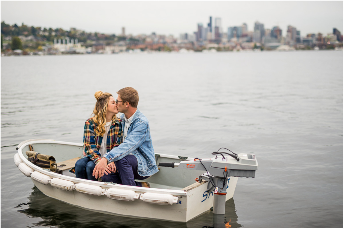 End of Year 2 Seattle Wedding Photographers