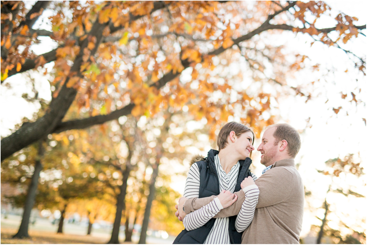 Topeka Fall Engagement Session 9