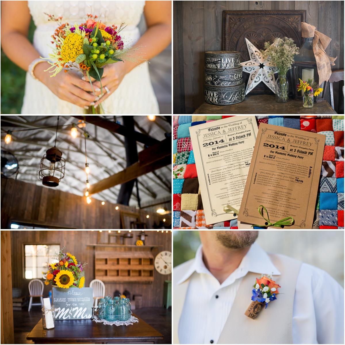 Wedding Inspiration Wedding Brand Rustic Farm Wedding