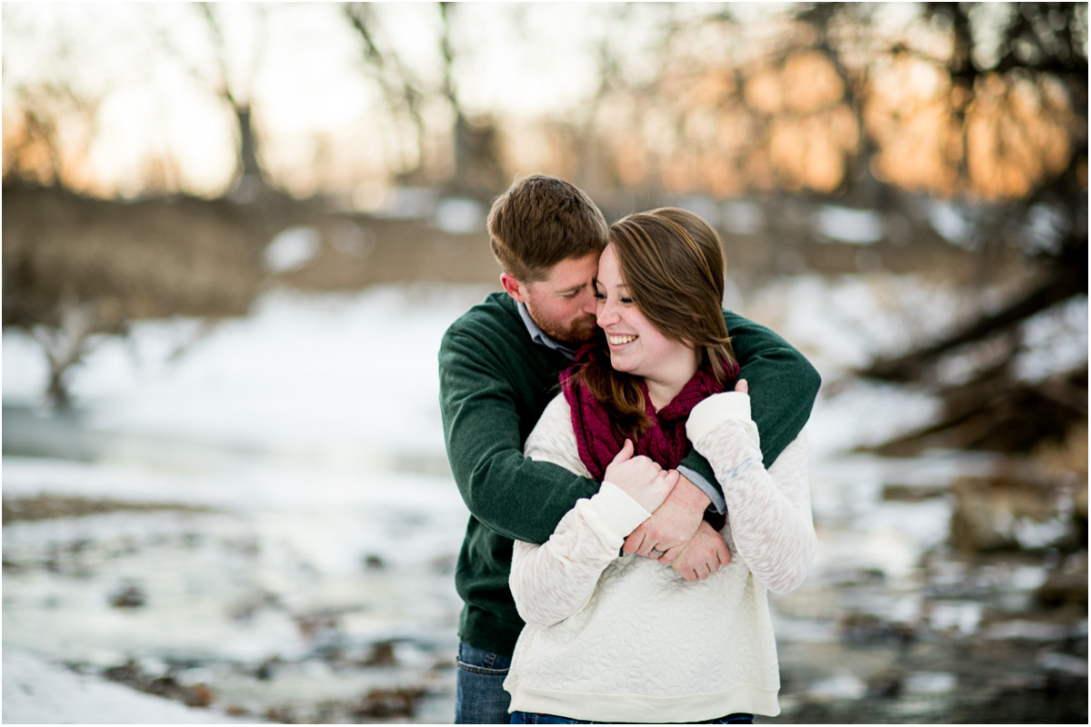 Winter Anniversary Session Manhattan Kansas Wedding Photographers
