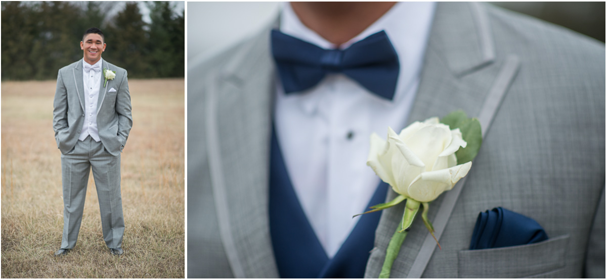 navy blue groom details Seattle Wedding Photographers Salt and Pine Photography