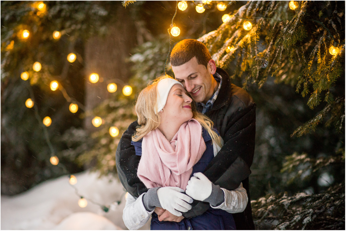winter engagement inspiration Seattle Wedding Photographers Salt and Pine Photography
