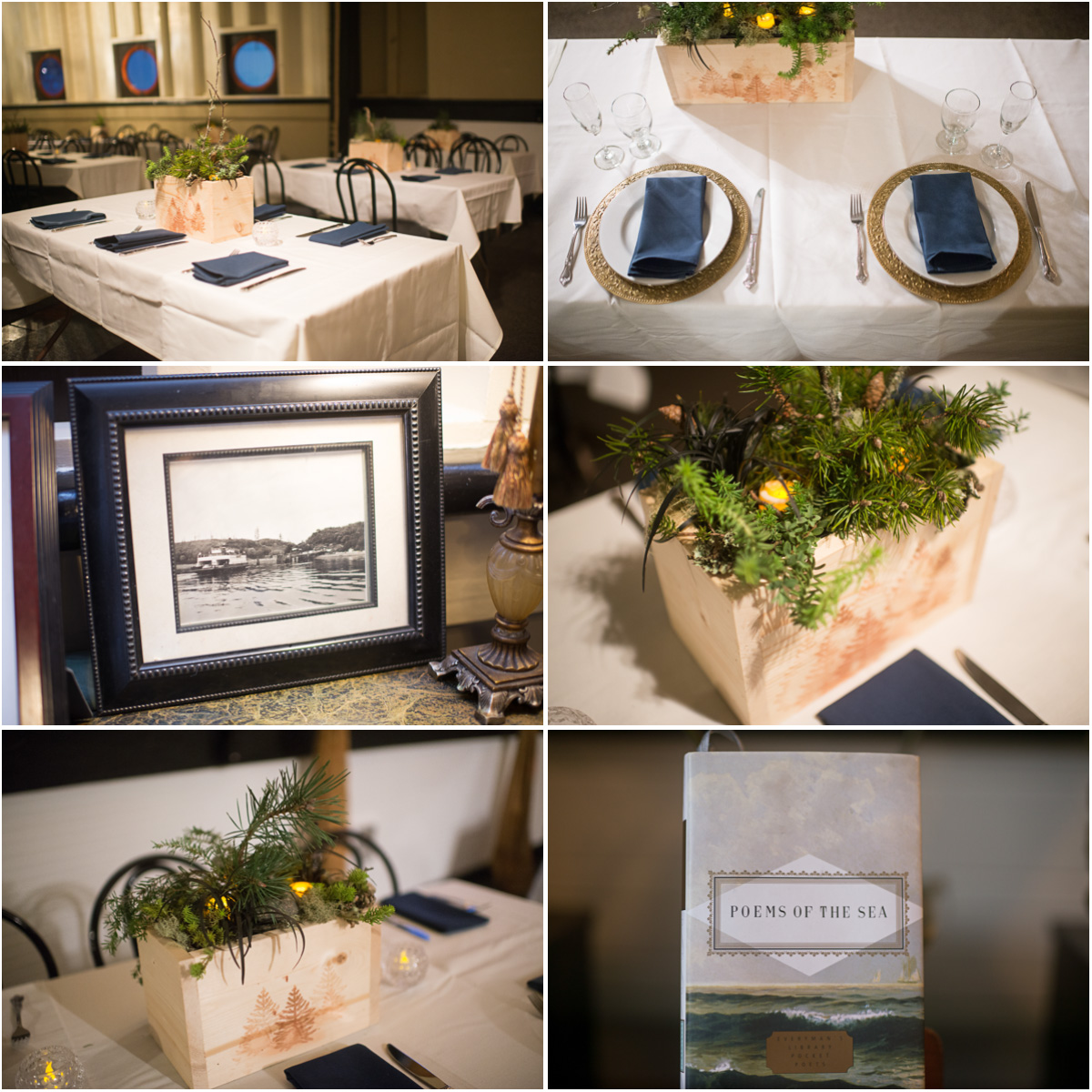 woodsy-wedding-table-settings-ferry-boat-wedding