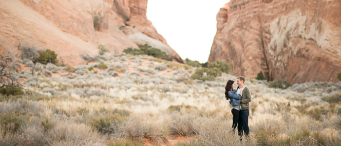 Moab National Park Engagement   Seattle Wedding Photographers