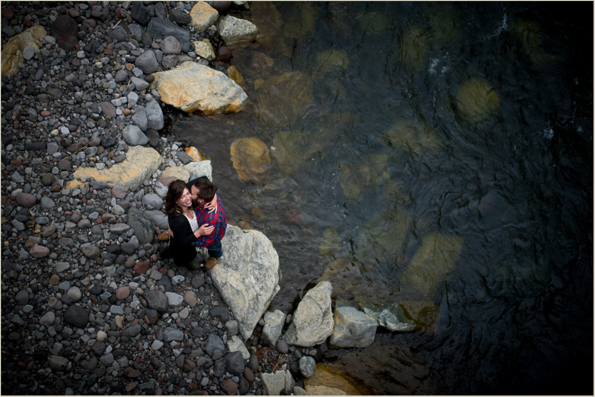 Nooksack River Mount Baker Highway Engagement Session