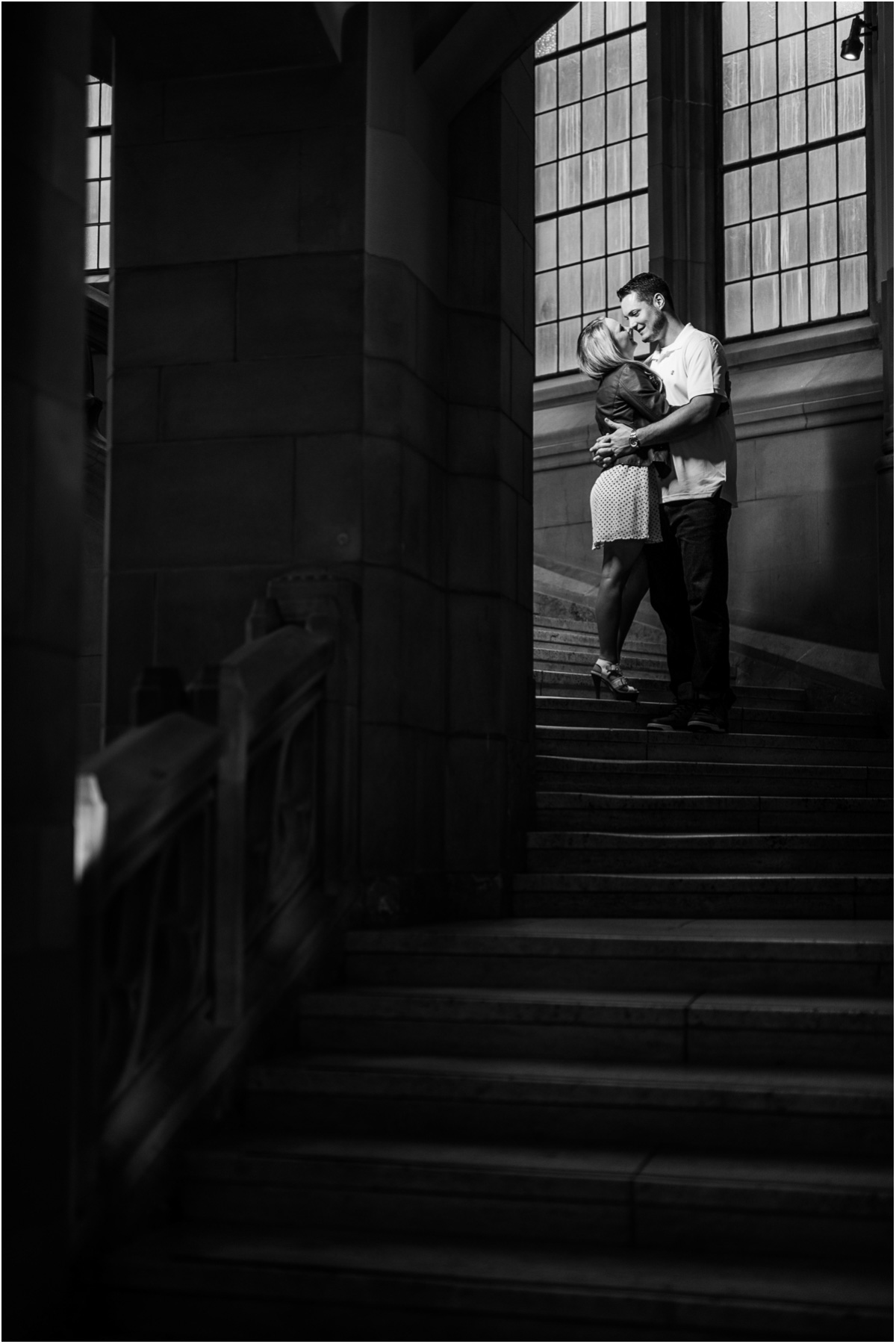 Suzzallo Library Engagement Photos