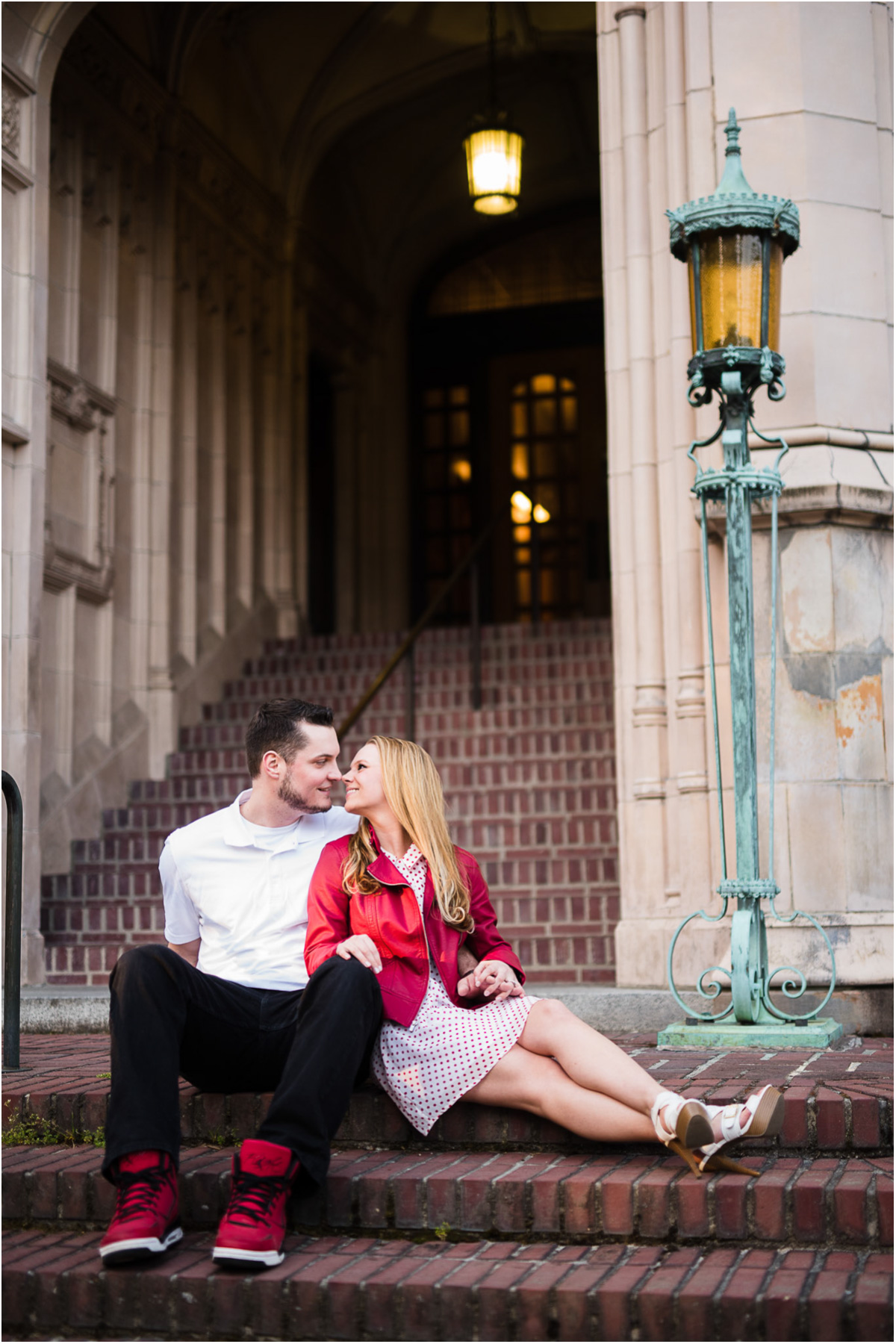 University of Washington Engagement Session Seattle Wedding Photographers