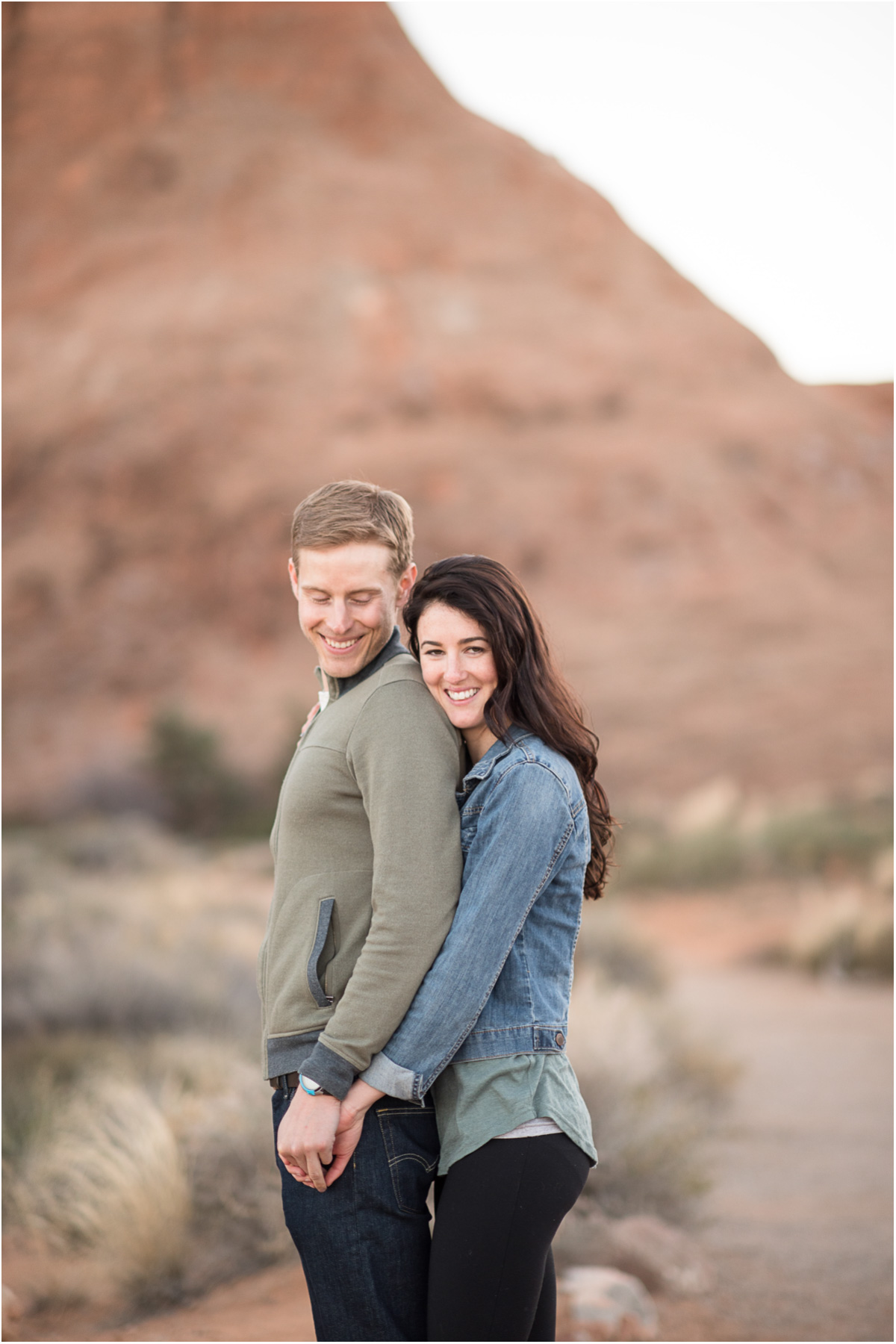 adventurous national park engagement moab utah