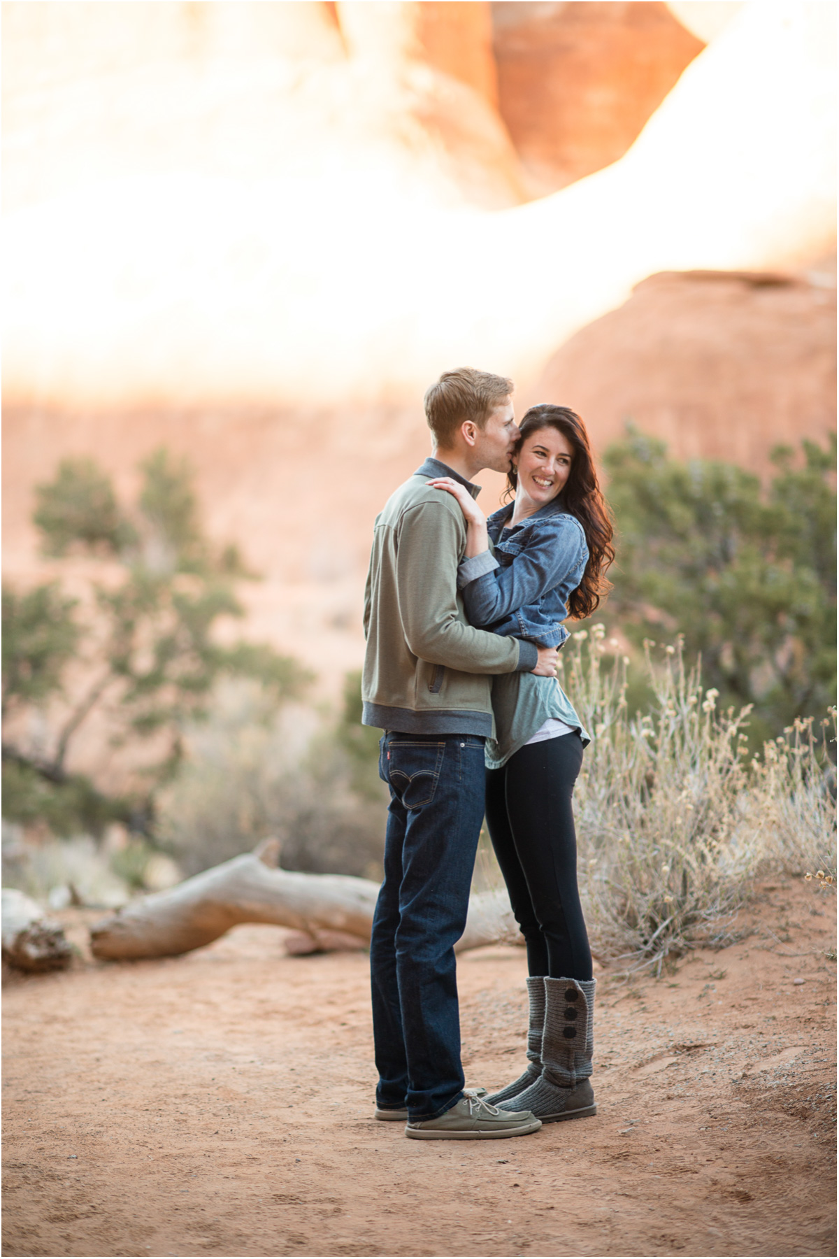 arches national park engagement