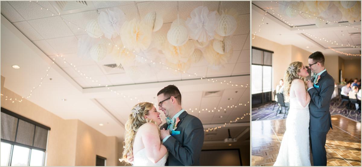 bride and groom dancing bluemont hotel wedding