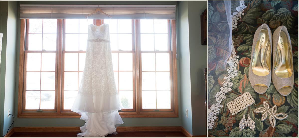 childhood home wedding details
