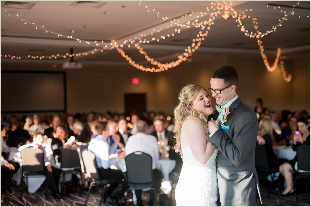 first dance bluemont hotel wedding