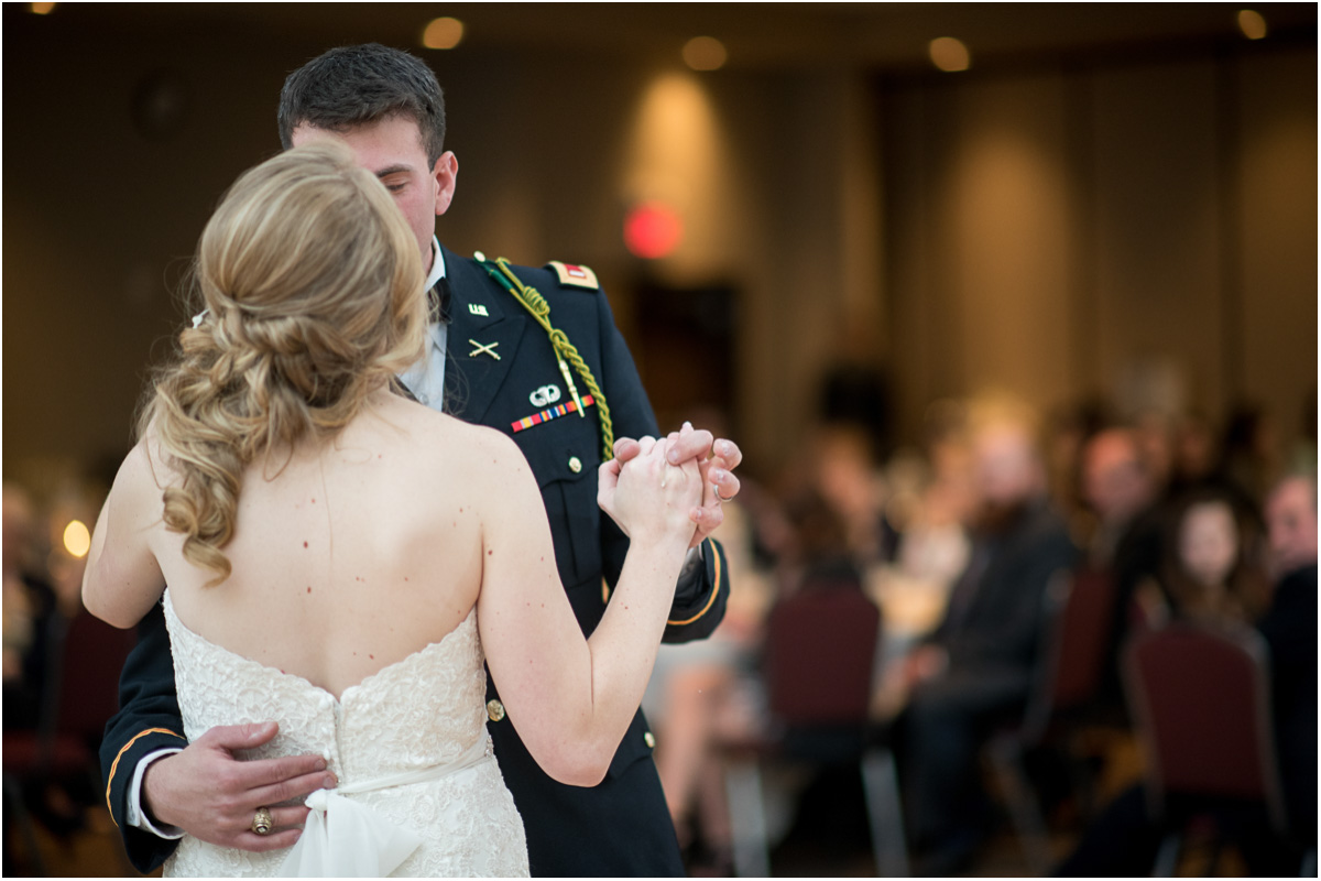 first dance military wedding
