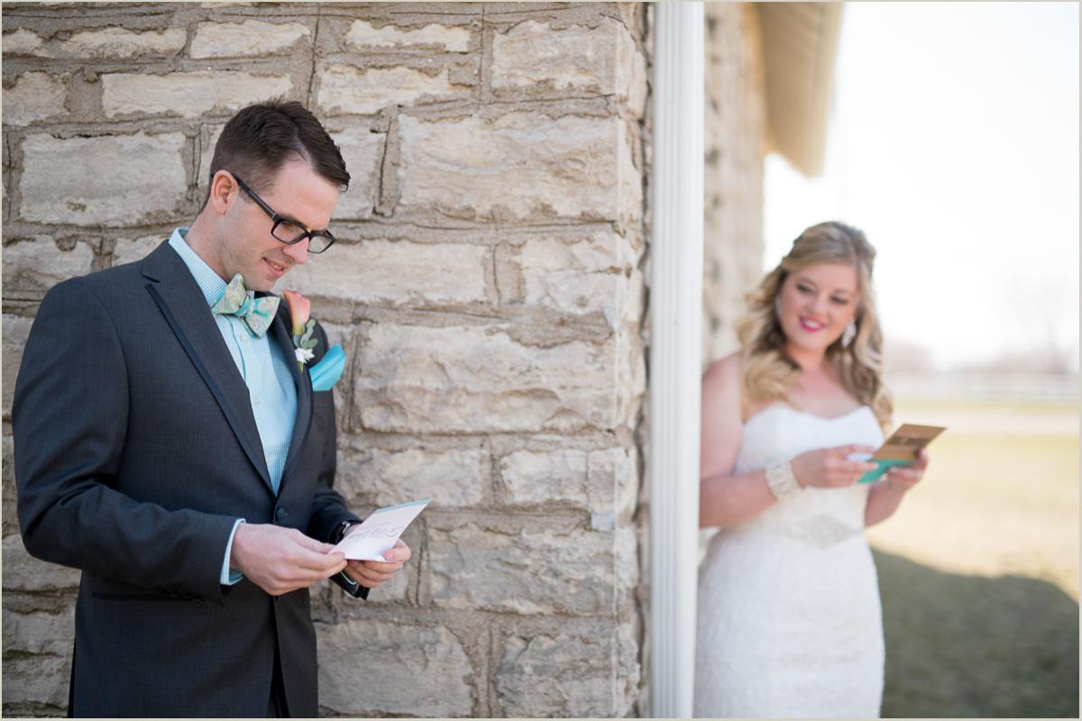letter reading before ceremony