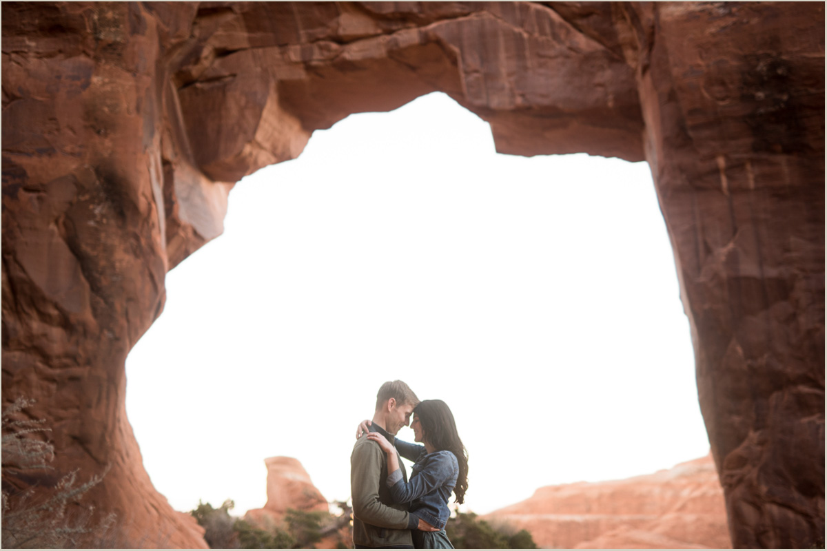 moab national park engagement destination photographers