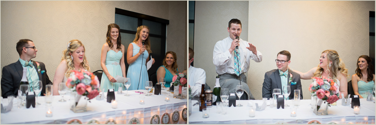 toasts at bluemont hotel wedding