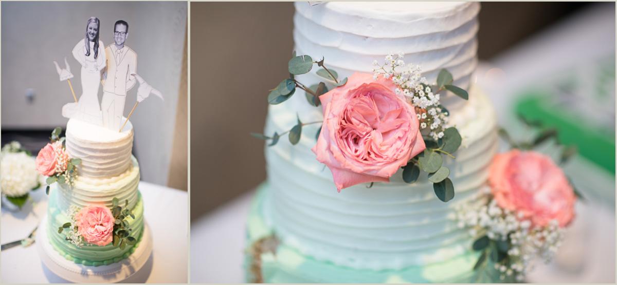 vintage spring wedding cake 4 cakes bakery manhattan ks