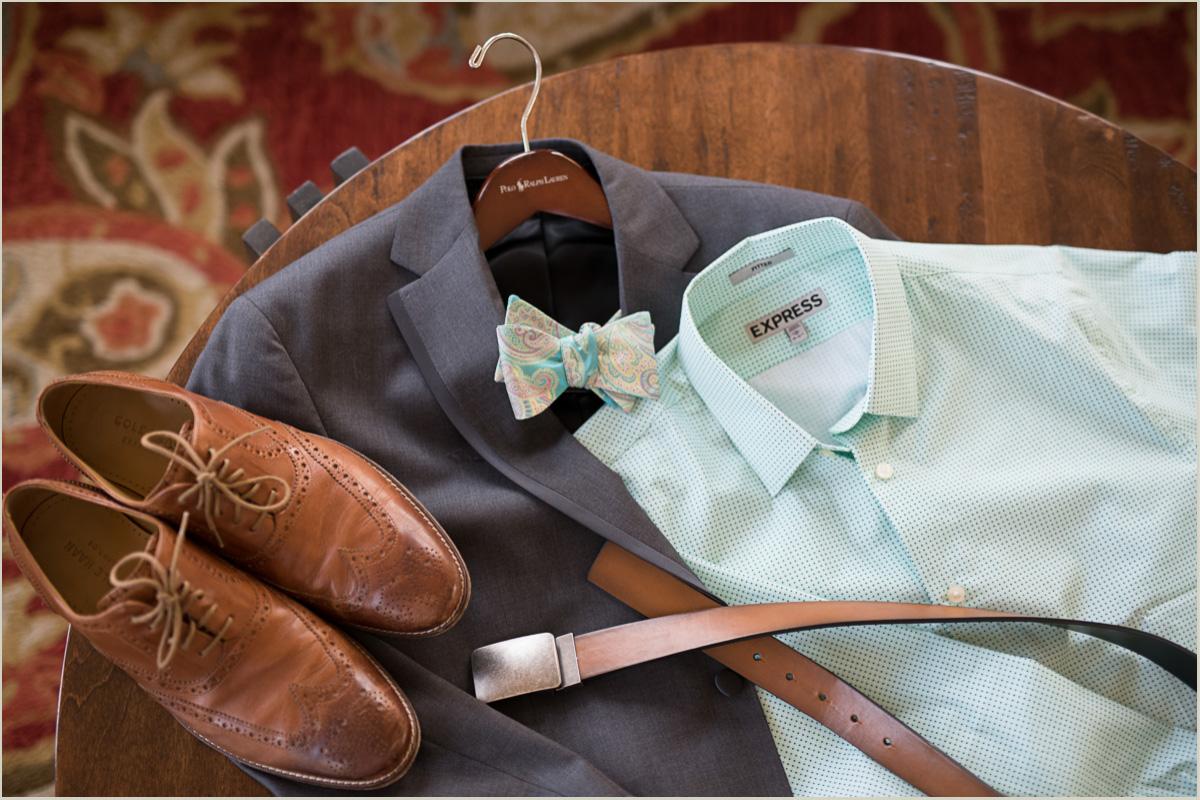 vintage wedding groom details
