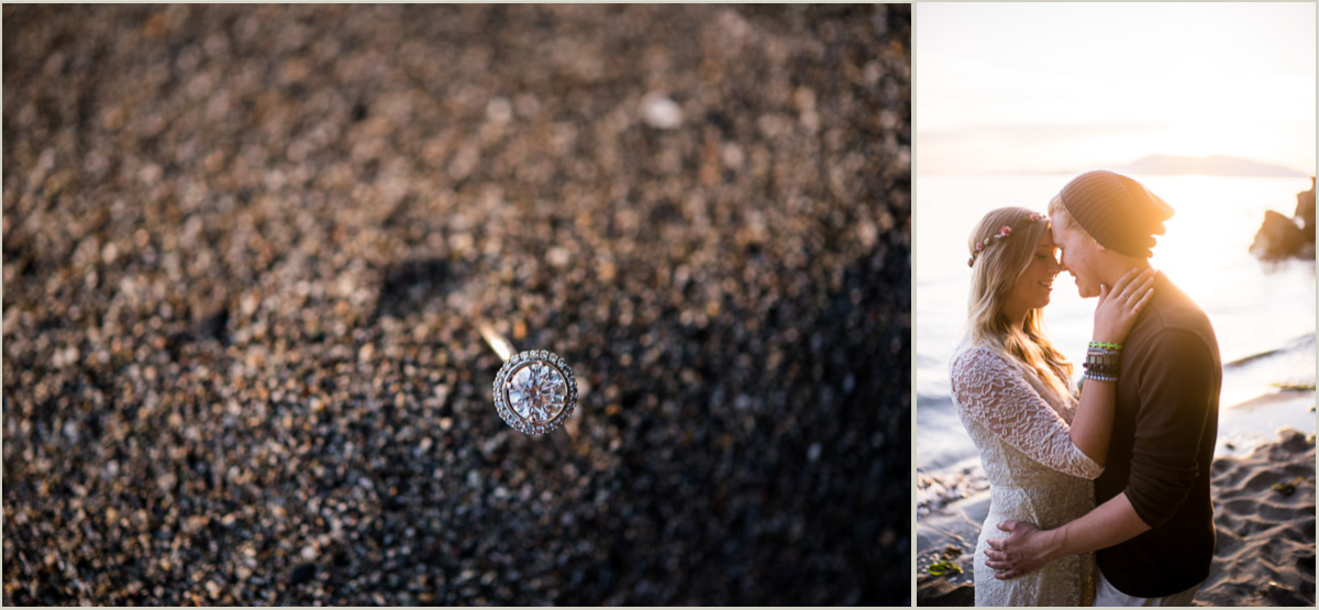 Chuckanut Beach Engagement Session Pacific Coast Wedding Photographers