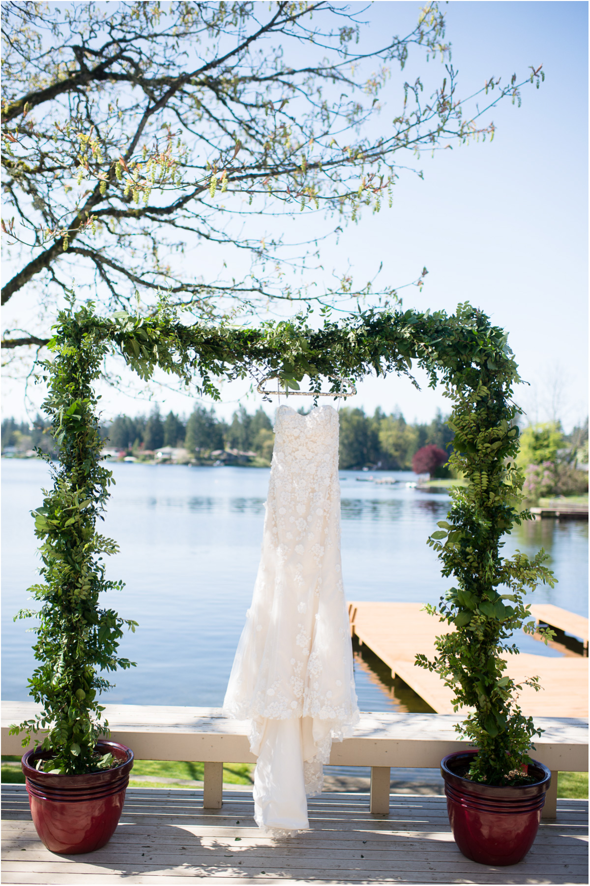 Intimate Lake Sawyer Wedding Dress