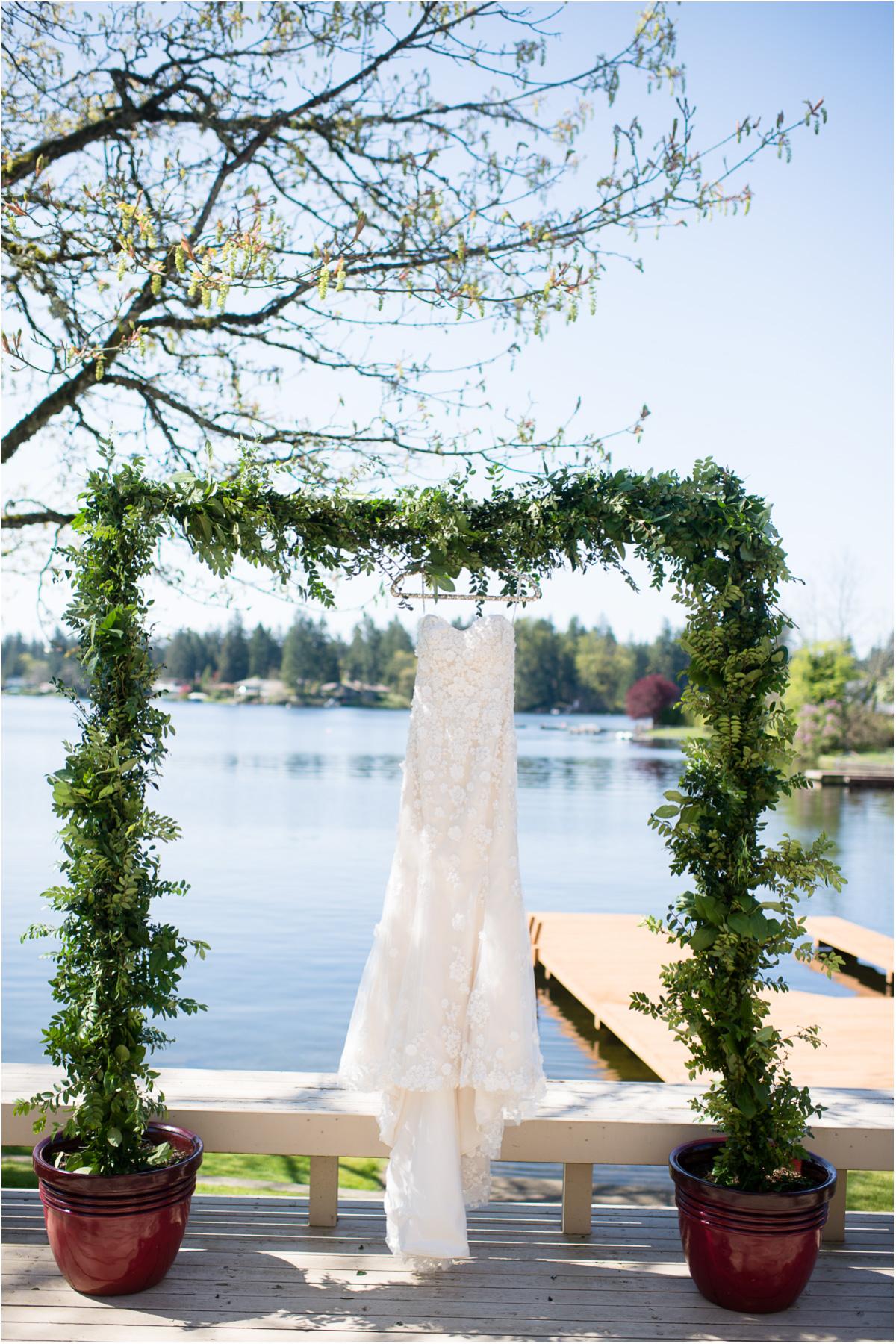 Intimate Lake Sawyer Wedding Dress