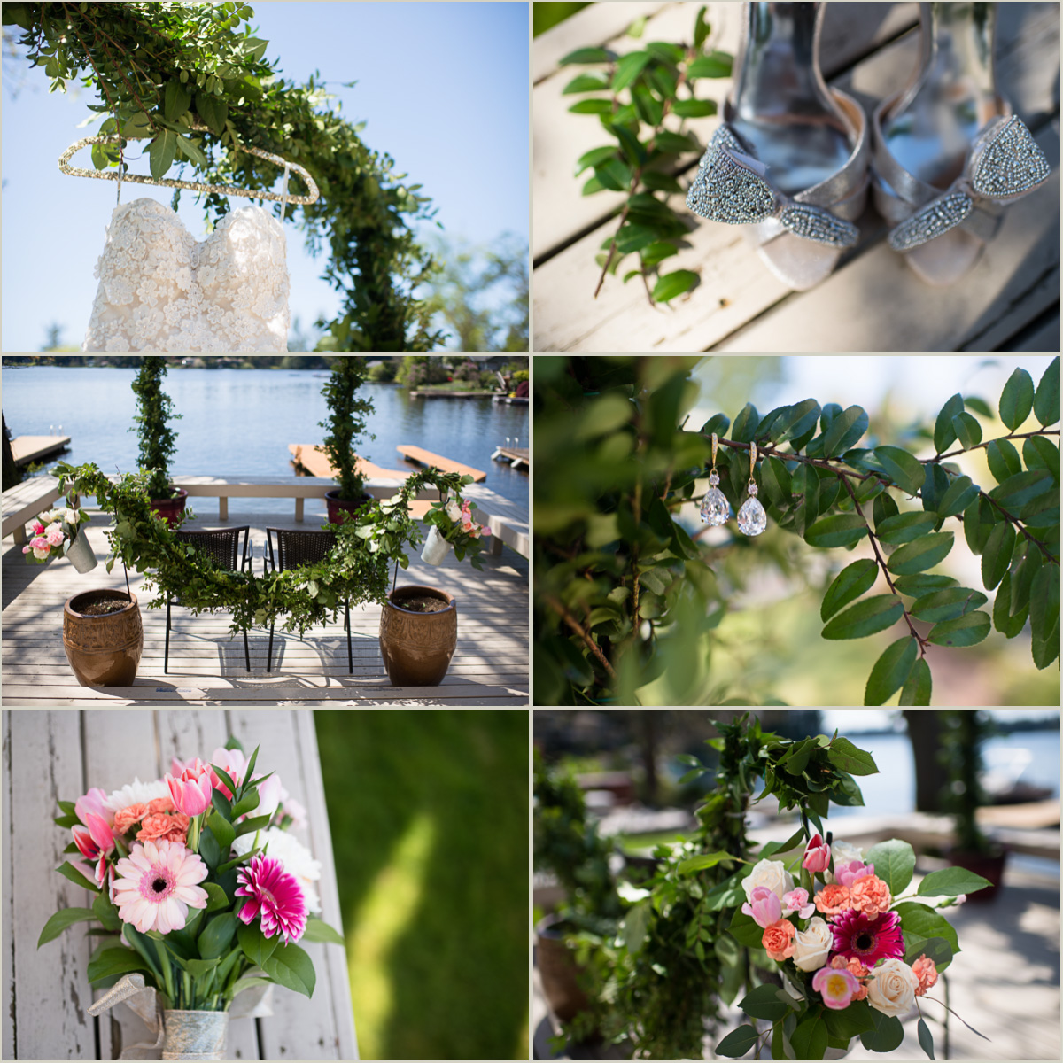 Intimate Lakeside Wedding Details