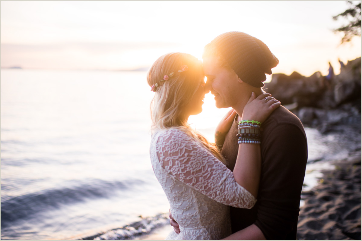 Pacific Coast Engagement Session
