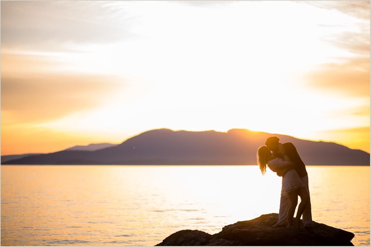 Pacific Northwest Beach Sunset Adventurous Photographer