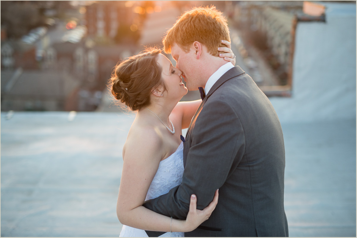 Schedule sunset time into your wedding day timeline