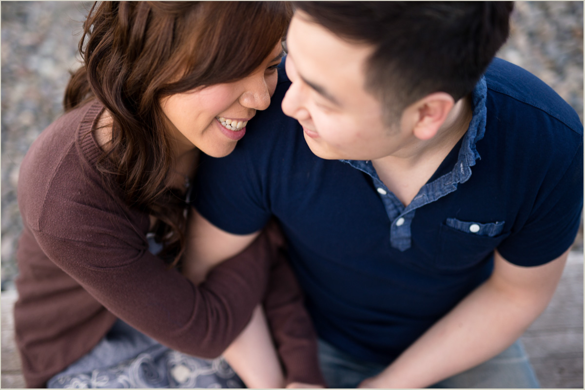 Spring Engagement Session in Seattle